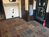 Carpeted Garage