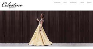 Celestino Couture new home page