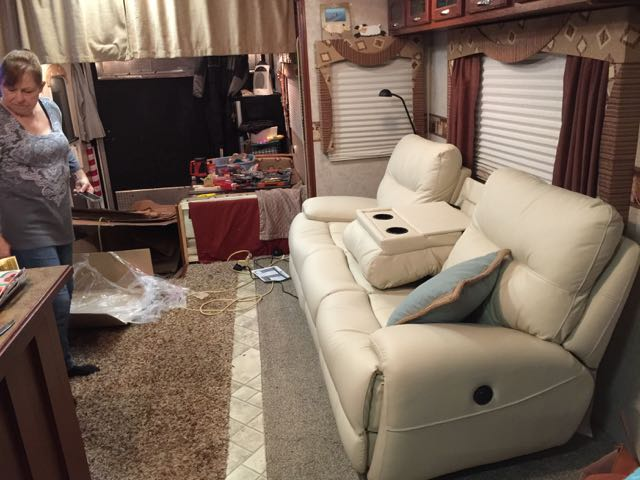 Image of new couch