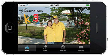 Leander KOA iPhone App