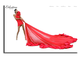 image of Celestino Couture home page